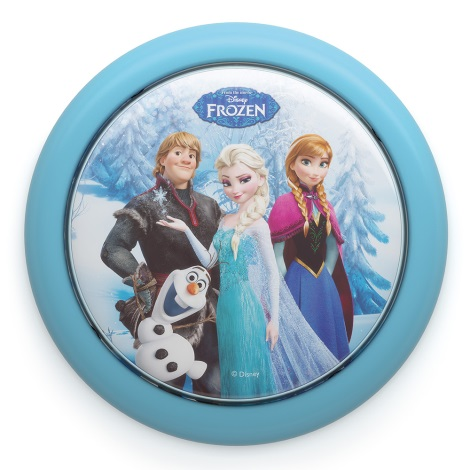 Philips 71924/08/16 - Gyereklámpa DISNEY FROZEN LED/0,3W/2xAAA