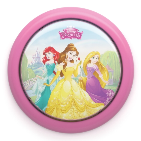Philips 71924/28/16 - Gyereklámpa DISNEY PRINCESS LED/0,3W/2xAAA