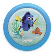 Philips 71924/35/P0 - Gyereklámpa DISNEY FINDING DORY LED/0,3W/2xAAA