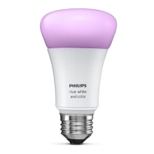 Philips 8718696592984 - Žárovka HUE WHITE AND COLOR AMBIANCE 1xE27/10W/230V