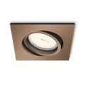 Philips - Beépíthető lámpa 1xGU10/5,5W/230V