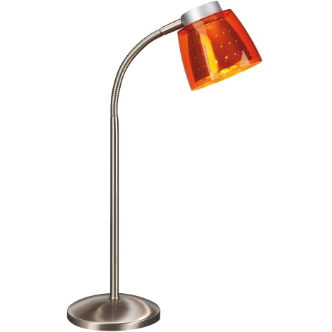 Philips Bright Light 67110/53/15 - Asztali lámpa 1xG9/40W narancssárga
