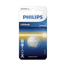 Philips CR2025/01B - Lítium elem CR2025 MINICELLS 3V