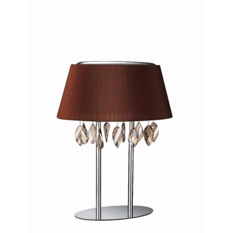 Philips Eseo 37899/43/13 - RAMOS asztali lámpa 3xE14/40W barna