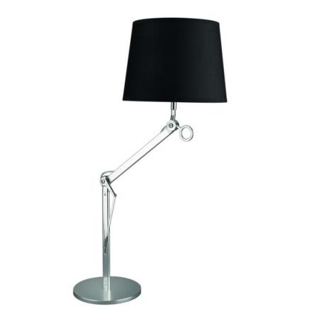 Philips Eseo 37969/30/13 - BREVI asztali lámpa 1xE27/60W fekete