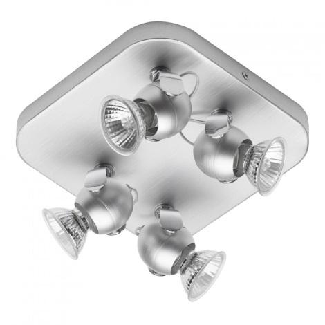 Philips Eseo 55554/48/13 - MINHO spotlámpa 4xGU10/50W alumínium