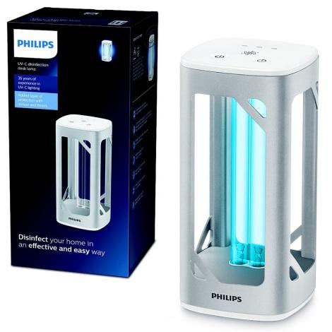Philips - Fertőtlenítő germicid lámpa érzékelővel UV-C/24W/230V