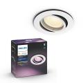 Philips - LED RGB Beépíthető lámpa 1xGU10/5,7W/230V