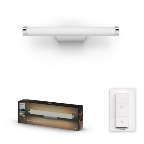 Philips - LED Szabályozható fürdőszobai lámpa Hue LED/13W/230V IP44 + távirányító