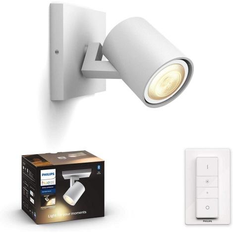 Philips - LED Szabályozható lámpa Hue 1xGU10/5W/230V + távirányító