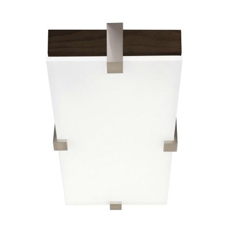 Philips Lirio 34504/70/LI - KWADRO mennyezeti lámpa 1xG23/11W sötét tölgy