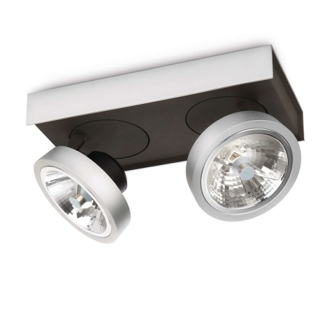 Philips Lirio 57982/48/16 - Spotlámpa BONQ 2xG53/45W/230V
