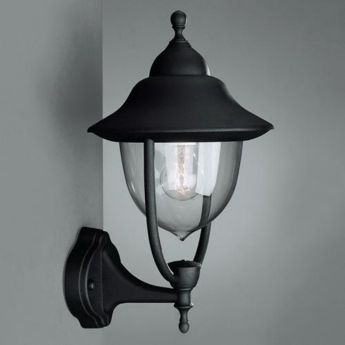 Philips Massive 01620/01/30 - BUDAPEST fali lámpa 1xE27/60W fekete  lampak.hu