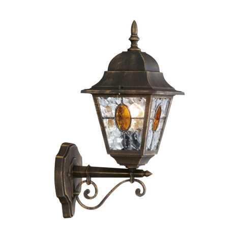 Philips Massive 15170/42/10 - MÜNCHEN fali lámpa 1xE27/100W patinás barna