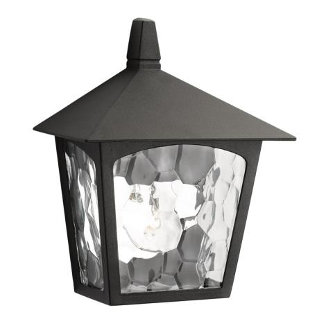 Philips Massive 15410/30/10 - BUCHAREST kültéri fali lámpa1xE27/60W fekete