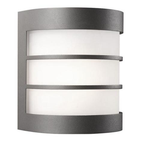 Philips Massive 17025/93/50 - LED Kültéri fali lámpa CALGARY 1xE27-LED/9,5W/230V