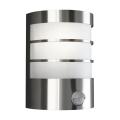 Philips Massive 17026/47/10 - Kültéri fali lámpa érzékelővel 1xE27/60W/230V