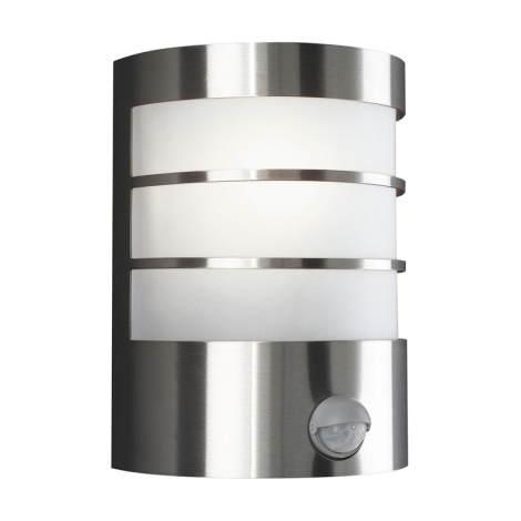 Philips Massive 17026/47/10 - Kültéri fali lámpa érzékelővel CALGARY 1xE27/60W/230V