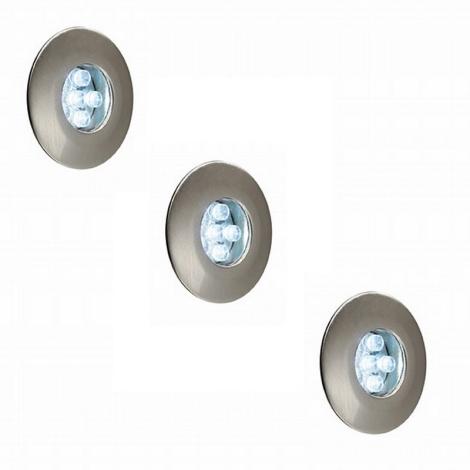 Philips Massive 17099/17/10 - LED-es beépíthető lámpa  3xLED/0,6W/12V