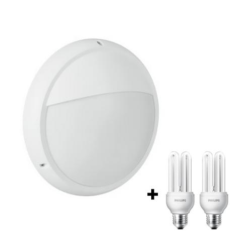 Philips Massive 17203/31/10 - BARI kültéri fali lámpa 2xE27/18W