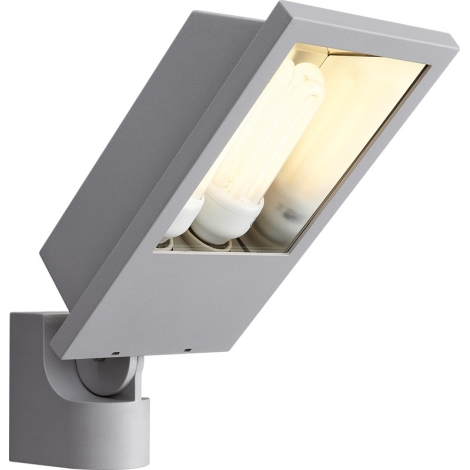 Philips Massive 17515/87/10 - LAGOS kültéri fali lámpa 2xE27/23W fémszürke