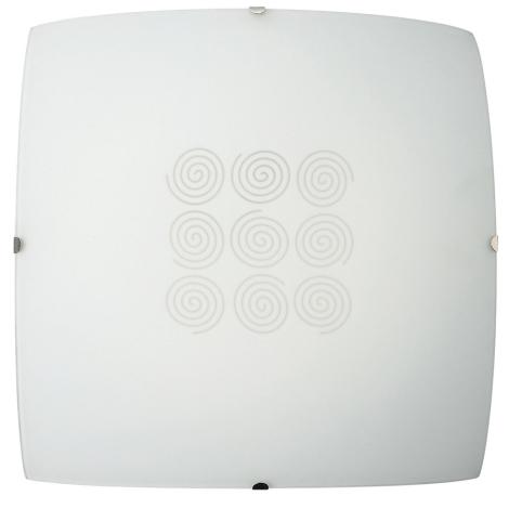 Philips Massive 30179/67/10 - CRISSY fali/mennyezeti lámpa 1xE27/100W fehér