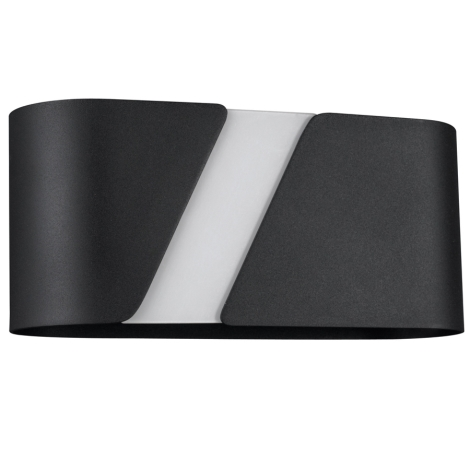 Philips Massive 33246/30/10 - KATIE fali lámpa1xE27/23W fekete