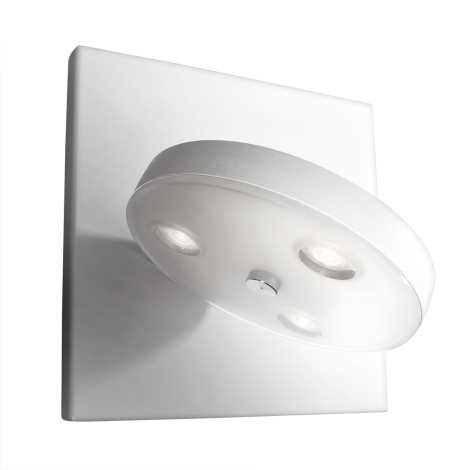 Philips Massive 33258/31/10 - LOUISE LED-es fali lámpa 3xLED/2,5W fehér