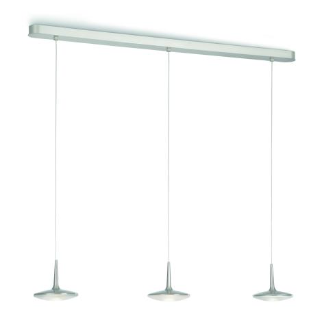 Philips Massive 40546/17/13 - LED Mennyezeti függesztékes lámpa ATTLILIO 3xLED/6W/230V