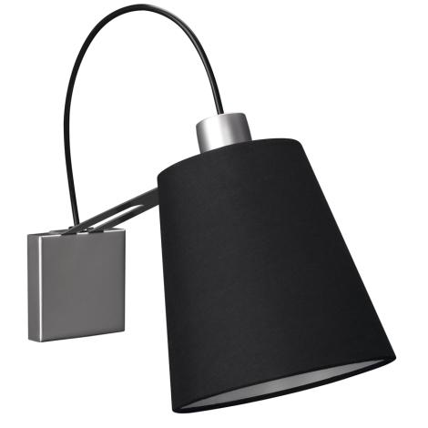 Philips Massive 45568/48/10 - GAUSS fali lámpa 1xE14/40W fekete