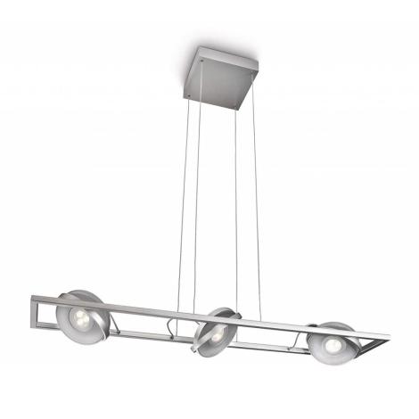 Philips Massive 53159/48/10 - VISION LED-es spotlámpa állítható 3xLED/7,5W alumínium