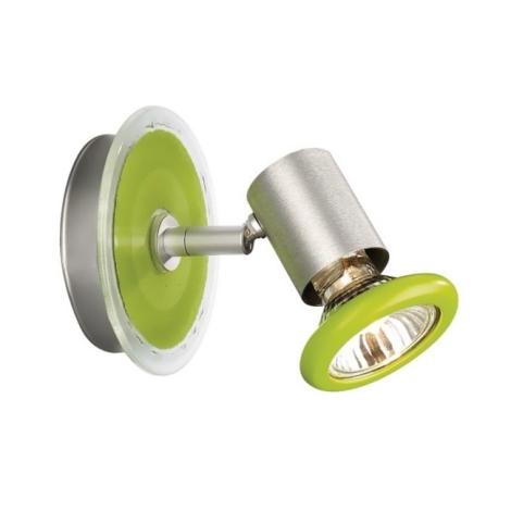 Philips Massive 54430/33/90 - FOXY fali lámpa 1xGU10/50W zöld