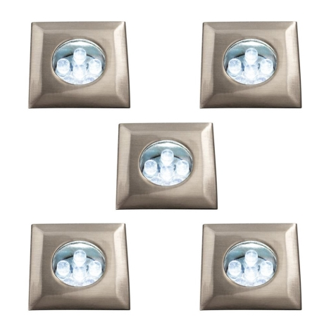 Philips Massive 59055/17/10 - Beépíthető lámpa 5xLED/0,39W/12V