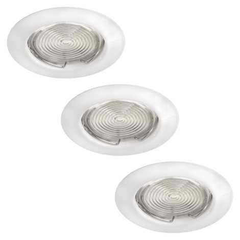 Philips Massive 59383/31/19 - KÉSZLET 3x LED süllyesztett lámpa FREA 3xGU10/3W/230V + 3xGU10/7W
