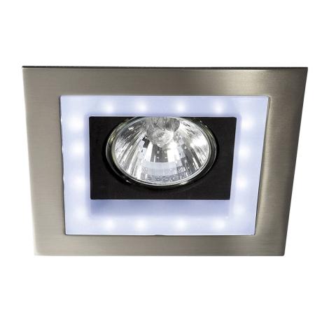Philips Massive 59530/17/10 - BONZI LED-es beépíthető lámpa 1xGU10/35W + 16xLED/3W