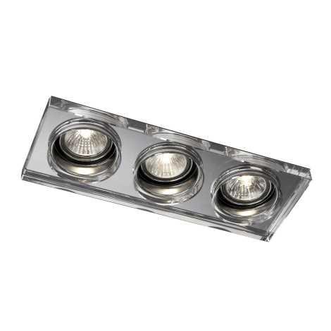 Philips Massive 59563/11/10 - Fürdőszobai mennyezeti lámpa SAPPHIRE 3xGU10/50W/230V