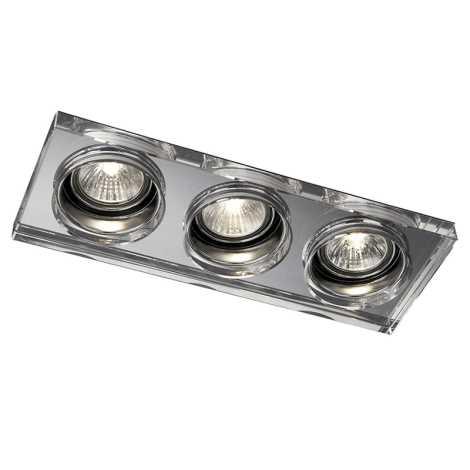 Philips Massive 59563/11/10 - LED fürdőszobai süllyesztett lámpa SAPPHIRE 3xLED/4W
