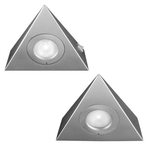 Philips Massive 59704/48/10 - SESAME konyhai lámpa 2 db-os szett 2xG4/20W/12V