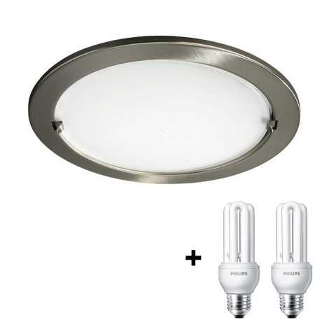 Philips Massive 59756/06/LM - Beépíthető lámpa  2xE27/15W