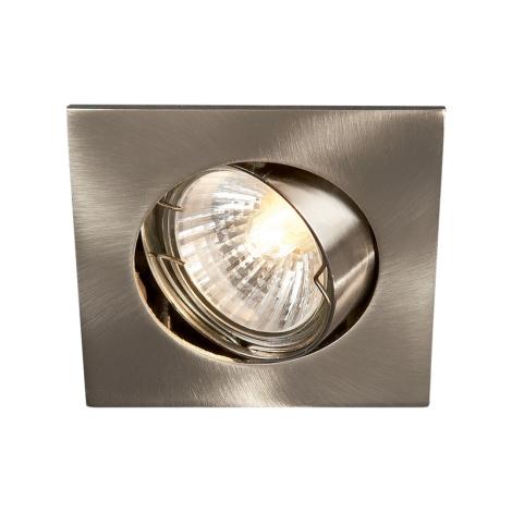 Philips Massive 59780/17/81 - Fürdőszobai mennyezeti lámpa BOMBAY 1xGU10/50W/230V  rozsdamentes acél