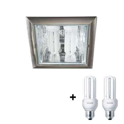 Philips Massive 59794/17/10 - OCTO beépíthető lámpa 2xE27/23W