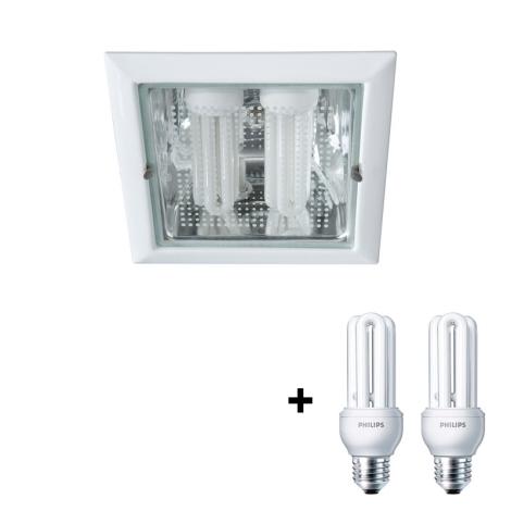 Philips Massive 59794/31/10 - OCTO beépíthető lámpa 2xE27/23W