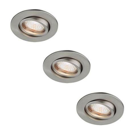 Philips Massive 59901/17/10 - KÉSZLET 3x Fürdőszobai mennyezeti lámpa SPRING 1xGU4/20W/230V