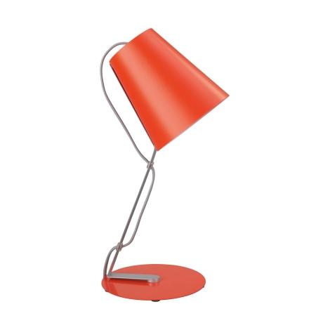 Philips Massive 66620/32/10 - SKIP asztali lámpa 1xE14/12W narancs