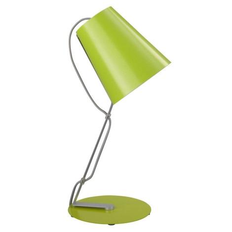 Philips Massive 66620/33/10 - SKIP asztali lámpa 1xE14/12W zöld