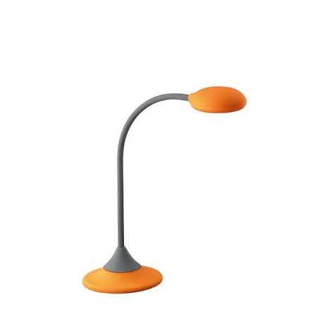 Philips Massive 66622/53/10 - Asztali lámpa  WARREN 1xGX53/9W narancs