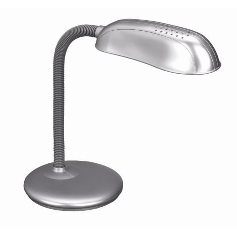 Philips Massive 67319/87/10 - FRANK asztali lámpa 1xE27/14W fémszürke