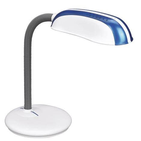 Philips Massive 67319/91/10 - FRANK asztali lámpa 1xE27/14W kék