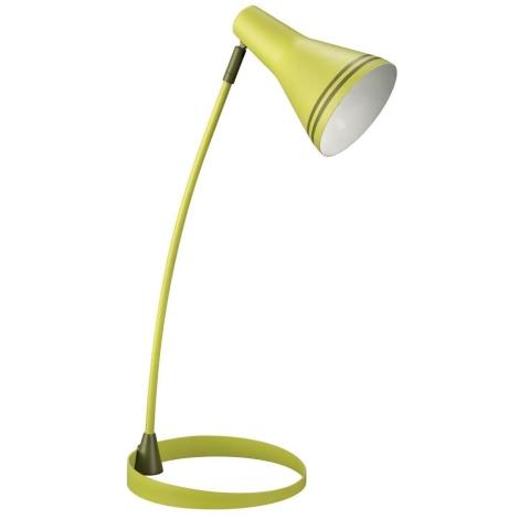 Philips Massive 67322/33/10 - SCOTT asztali lámpa 1xE14/8W zöld