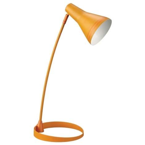 Philips Massive  67322/53/10 - SCOTT asztali lámpa 1xE14/8W narancs
